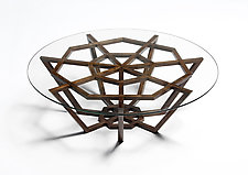 Droplet Table by Jesse Shaw (Wood Coffee Table)