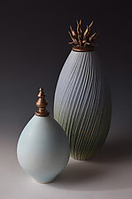 Field and Sky Vessels by Natalie Blake (Ceramic Vessel)