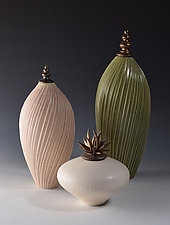 Soft Earth Vessels by Natalie Blake (Ceramic Vessel)