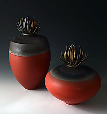 Lava Vessels by Natalie Blake (Ceramic Vessel)