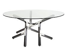 Oahu by Peter Harrison (Wood & Aluminum Dining Table)