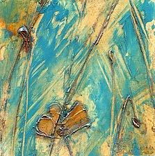 Poppy Study III by Denise Souza Finney (Acrylic Painting)