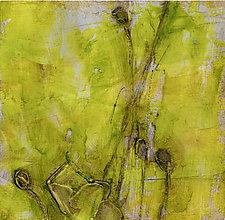 Poppy Study VI by Denise Souza Finney (Acrylic Painting)