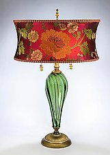 Margot by Susan Kinzig and Caryn Kinzig (Mixed-Media Table Lamp)