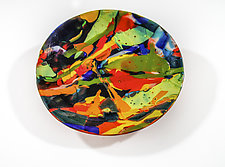 Lava Bowl by Varda Avnisan (Art Glass Bowl)