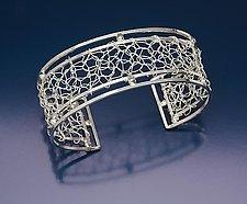 Narrow Frame Cuff by Randi Chervitz (Silver Bracelet)
