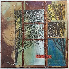Morning by Wen Redmond (Fiber Wall Hanging)