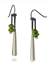 Bell Drop by Ayala Naphtali (Silver Earrings)