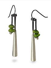 Bell Drop by Ayala Naphtali (Silver Earrings)