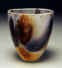 Tall Cut Rim Bowl II by Nicholas Bernard (Ceramic Bowl)