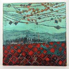 Aqua Net String Theory by Barbara Gilhooly (Acrylic Painting)