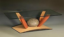 Nested Coffee Table in Maple by Derek Secor Davis (Wood Coffee Table)