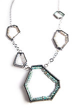 Fragments by Erica Stankwytch Bailey (Silver & Stone Necklace)