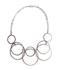 Circular Necklace by Erica Stankwytch Bailey (Silver Necklace)