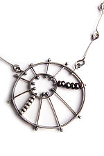 Burst Pendant by Erica Stankwytch Bailey (Silver & Stone Necklace)