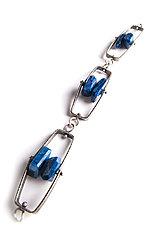 Long Climb Bracelet by Erica Stankwytch Bailey (Silver & Stone Bracelet)