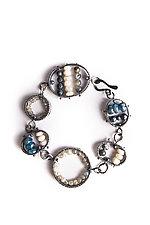 Louise Bracelet by Erica Stankwytch Bailey (Silver & Stone Bracelet)