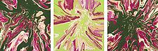Camellias 2 by Cassandra Tondro (Acrylic Painting)