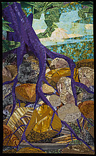 Roots Run Deep by Linda Beach (Fiber Wall Art)