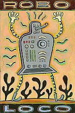 Robo Loco by Hal Mayforth (Giclee Print)