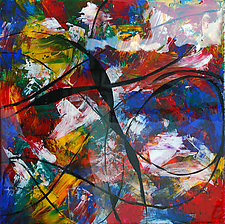 Quiddity by Jerry Hardesty (Mixed-Media Wall Art)