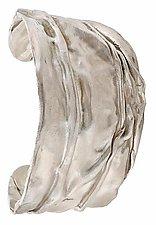 Silver Cuff Bracelet 001 by Diana Widman (Silver Bracelet)