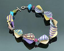 Wings Teardrop Prototype by Arden Bardol (Polymer Clay Necklace)