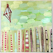 Tethered Towers by Barbara Gilhooly (Acrylic Painting)