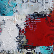 Abstract III by Julie Havel (Acrylic Painting)