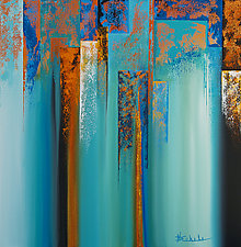 Dissolve 4 by Nancy Eckels (Acrylic Painting)