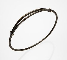 Bangle Bracelet by Peg Fetter (Steel Bracelet)