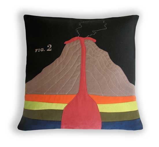Geology pillow