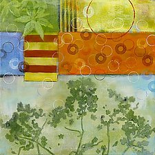 Botanica 3 by Glenys Porter (Acrylic Painting)