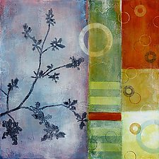 Botanica 4 by Glenys Porter (Acrylic Painting)