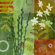 Botanica 5 by Glenys Porter (Acrylic Painting)