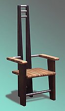 Steel Orient by Paul Nicolas (Wood & Steel Chair)