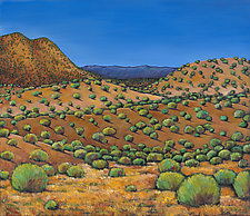 Desert Afternoon by Johnathan  Harris (Acrylic Painting)