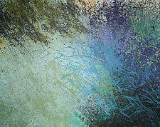Aqua Breezes by Jan Jahnke (Acrylic Painting)