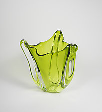 Current Vase by Mariel Waddell and Alexi Hunter (Art Glass Vase)