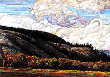 East of the Summit by Sandra Bryant and Carl Bryant (Art Glass Mosaic)