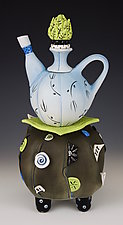 And Yet Always by Laura Peery (Ceramic Teapot)