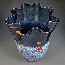 Midnight Magic by Eric Bladholm (Art Glass Bowl)