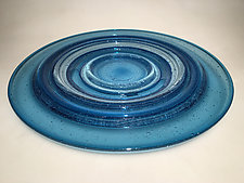 Ripple Platter by Ian Whitt (Art Glass Platter)