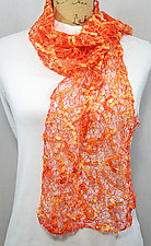 Threadwork Scarf 477 by Andi Shannon  (Stitched Scarf)