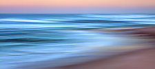 Caribbean sunset 18 x 40 by Richard Speedy (Color Photograph)