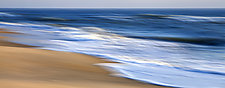 Dancing Waves 22 x 56 by Richard Speedy (Color Photograph)
