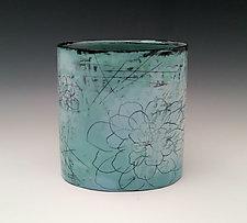 Peony Container Vase by Whitney Smith (Ceramic Vessel)