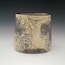 Blossom Container Vase by Whitney Smith (Ceramic Vase)
