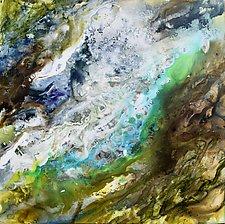 Falls III by Stephen Yates (Acrylic Painting)