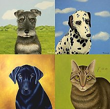 Custom Pet Portrait by Jane Troup (Oil Painting)